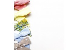 Бантики для детского сада из ткани