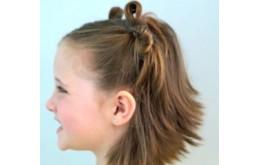 Два бантика из волос