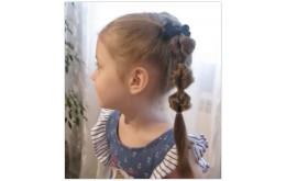 Прически для детского садика