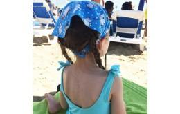 Прически для пляжа и косынки от солнца