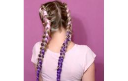 Цветные косы с канекалоном