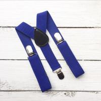 Подтяжки для мальчика (ярко-синие)